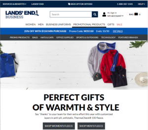 Shop Lands' End Business Outfitters
